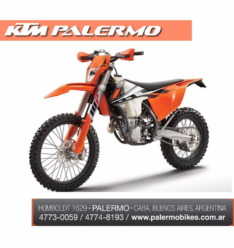 ktm 500 exc f 2017 0km - envio gratis