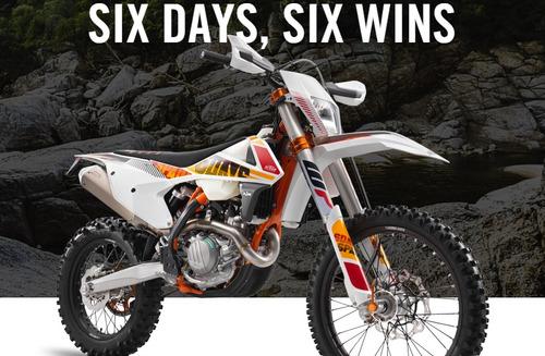 ktm 500 exc f six days 2017 motoswift