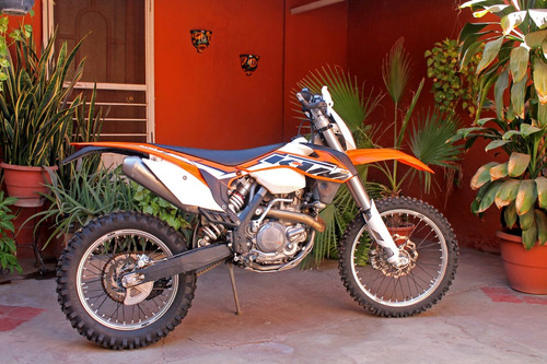 ktm 500 xc-w 2014 naranja