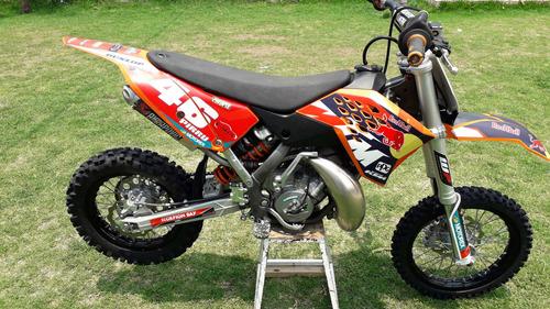 ktm 65cc sx 2015 naranja