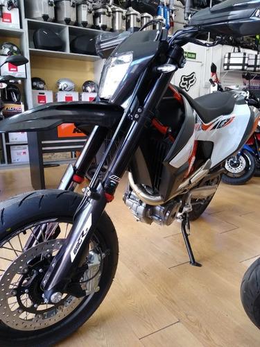 ktm 690 smc r 2019 supermotard 0km no 701 + palermo bikes