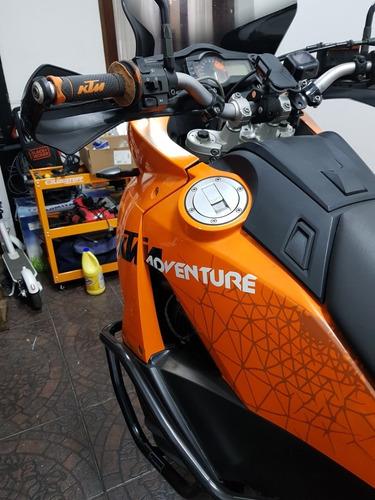 ktm 990 adventure de las ultimas. exc. estado con accesorios