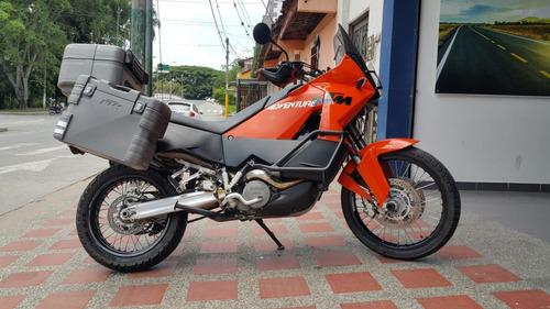 ktm 990 adventure - equipada