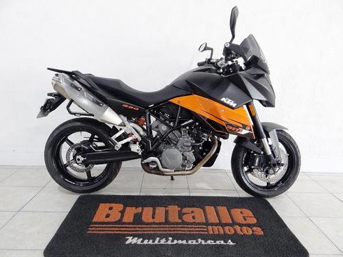 ktm 990 supermoto t laranja