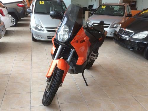 ktm adventure 990 em estado de nova, laranja cor oficial