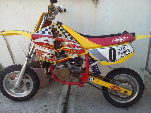 ktm-cobra cxsr50 amarilla con rojo