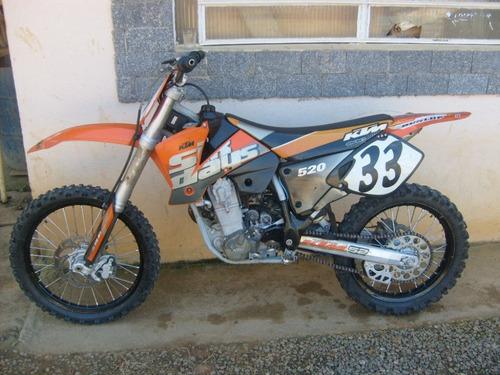 ktm cross 520 ano 2002 pouco usada