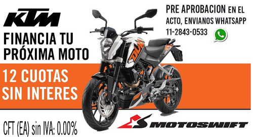 ktm duke 200 0 km 2017 motoswift