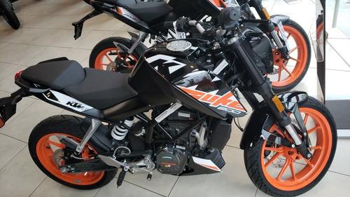 ktm duke 200 2020 0km blanco / naranja / negro