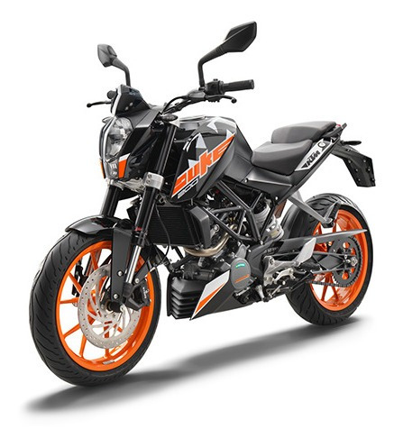ktm duke 200 - financiacion 18 cuotas sin interes