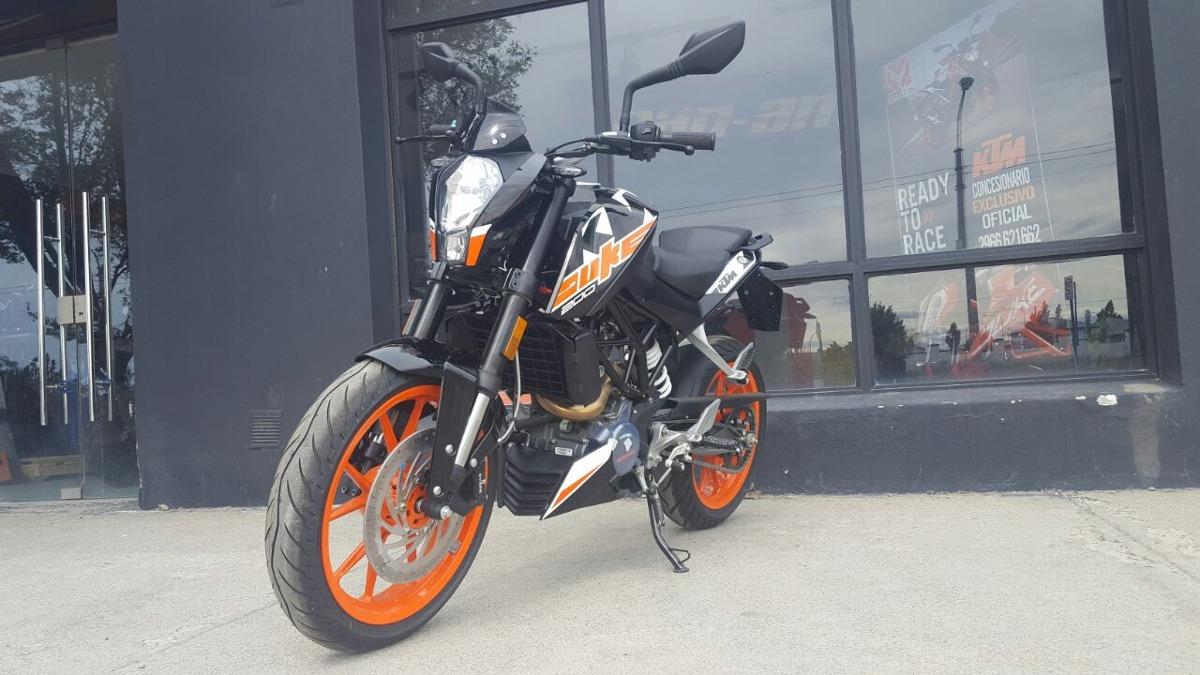 Ktm Duke 200 0km White/naranja - $ 169.900 en Mercado Libre