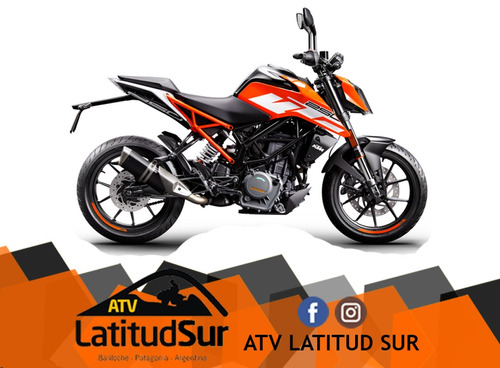 ktm duke 250 2017 0km - atv latitud sur