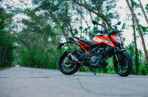 ktm duke 250 moto deportiva motocicleta