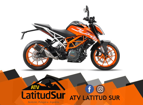 ktm duke 390 2017 0km - atv latitud sur