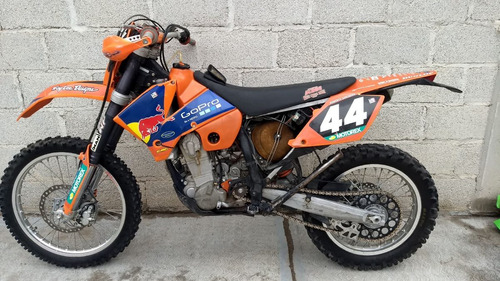 ktm enduro 450cc 2006 exc-g moto cross honda yamaha