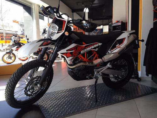 ktm enduro 690  r gs motorcycle