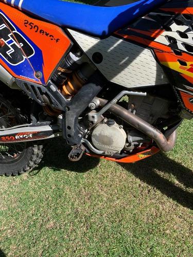ktm excf 250 enduro/motocross/trilhas 200 horas