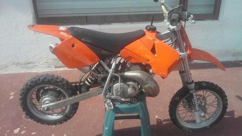 ktm moto 50cc para niños