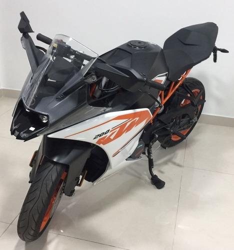ktm rc 200 200cc usada 2016 impecable - como nueva!