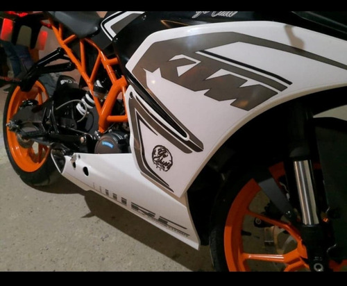 ktm rc 200 como nueva