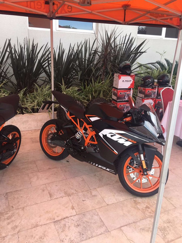 ktm rc 200 financiamos hasta 12 meses con tasa 0