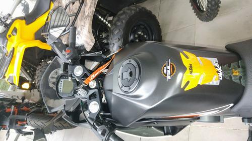 ktm rc 200 igual a 0km 2016 488km motoswift