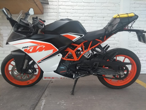 ktm rc 200 impecable