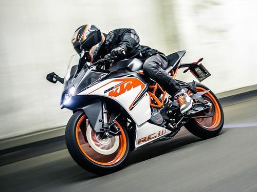 ktm rc 200 rc racing 100 km 2018 como okm pista 999 motos
