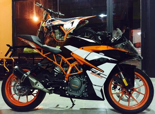 ktm rc 390 deportiva calle 0km 2017 moto motocicleta pistera