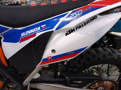 ktm six days 250 exc-f usada 2016 -  palermo bikes