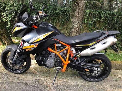 ktm sm990 impecavel c/ 14800km original + pneus novos