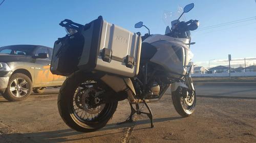 ktm super adventure 1290 t con baules rutera viajes no bmw