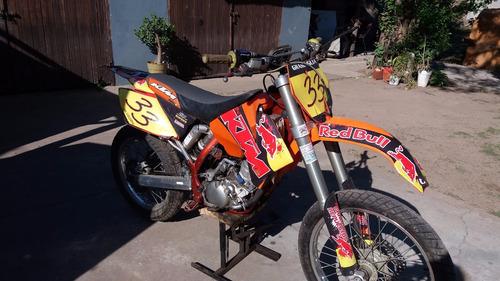 ktm sx 125 año 2005
