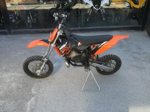 ktm sx 50 - usada año 2009 - moto cross - 2 t centrifuga