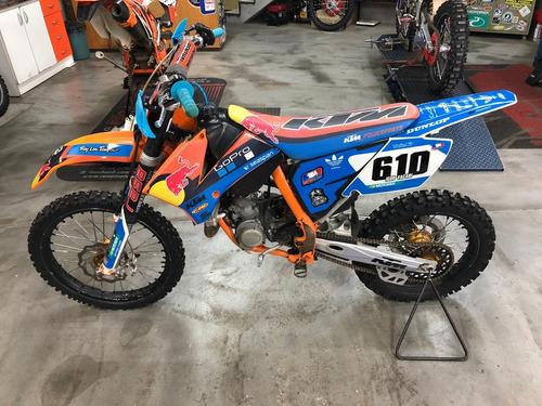 ktm sx 85 2010 moto de fino trato para pessoas exigentes