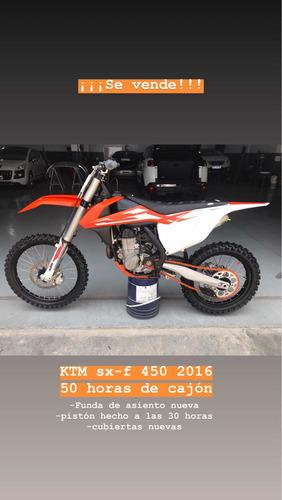ktm sx-f 450 2016 45 horas de cajon b