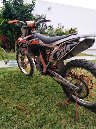 ktm sxf 250 2012  sxf 250 4 tiempos