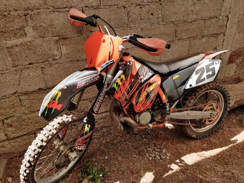 ktm125 naranjada