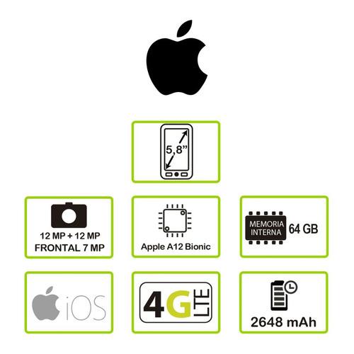 ktr celulares - apple - iphone xs 64gb