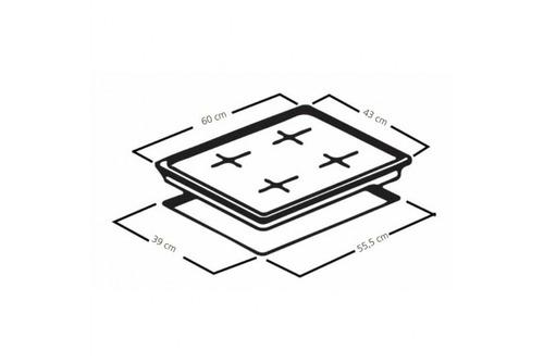 ktr  cubierta mabe de 60cm cmg6044sa-0con akr7861032312904kt