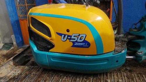 kubota 50u-5. modelo 2014. 4000 horas
