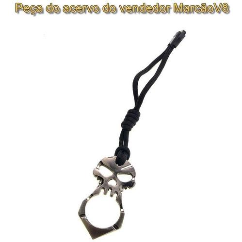 kubotan, soco ingles, chaveiro, defesa, caveira, skull