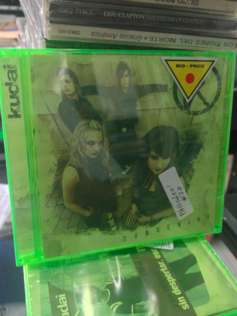 kudai sobrevive cd nuevo pop en espa241ol 9000 en