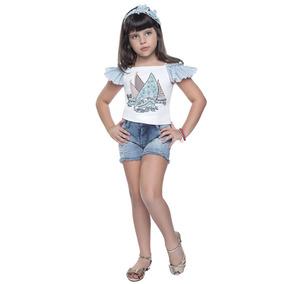 65a3077f9d Jaqueta Jeans Infantil Kukixo - Calçados