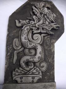 Kukulcan Dios Del Viento Maya De Piedra Cliza Artesania Maya