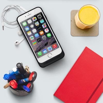 kumishi power case iphone 6, 6s & base de carga inalambrica