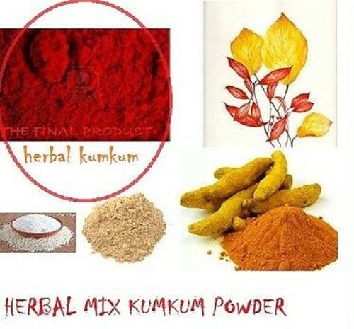 kumkum indiano 60g (pó para a testa) - tilak, tilaka, bindi
