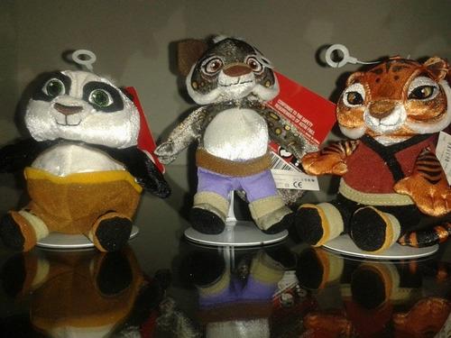 kunfu panda y sus amigos   $220.00 cada uno