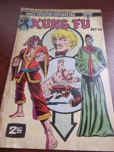 kung fu #14 1974 macc division historietas comic marvel