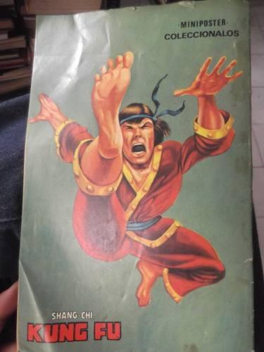 kung fu el lente mortal comic n 10 año 1974 macc marvel